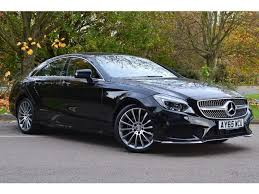 used mercedes coupe used 2015 mercedes cls diesel coupe cls 220d amg line 4dr 7g