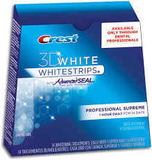 crest supreme whitening strips crest 3d white whitestrips with advanced seal professional supreme