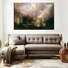 compare prices on deer canvas art painting landscape online