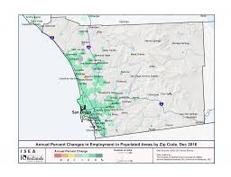 Zip Code Map San Jose by California Adds 3 700 Jobs In December Isea