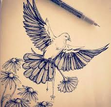 best 25 dove drawing ideas on pinterest holy spirit tattoo