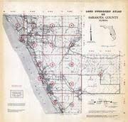 historic maps of florida sarasota county 1967 florida historical atlas