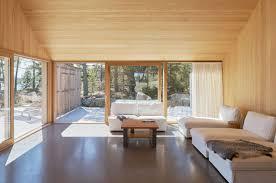 modern summer house in sweden features cedar cladding sleek