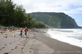 black sand beach hawaii black sand beach big island hawaii