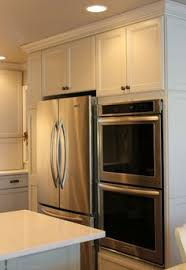 Microwave Kitchen Cabinet Microwave Shelf Dark Quartz With White Cabinets Stainless