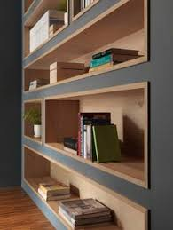 Wood Shelf Designs by