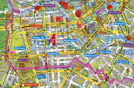Map Of Berlin Germany by Maps Berlin A Divided City