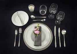 how to set a formal table how to set a table viners cutlery