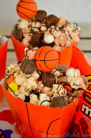 basketball party ideas kids birthday party ideas modern posh