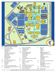 Cleveland State University Map Tcc South Campus Map Dix Campus Map Cleveland State University