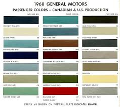 behr paint color chart 1968 chevelle exterior paint codes