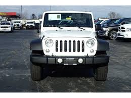 white jeep wrangler unlimited white jeep wrangler in illinois for sale used cars on buysellsearch