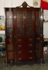 mahogany china cabinet furniture mahogany china cabinet ebay