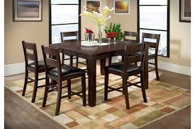 Urban Styles Furniture Corp - alpine ridge counter height table set 2960 2962 pub tables