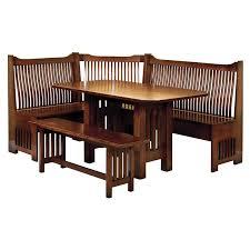 Kitchen Nook Furniture Set Amish Breakfast Nooks Amish Furniture Shipshewana Furniture Co