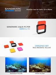 gopro hero4 silver amazon deal black friday amazon com sandmarc aqua filter for gopro hero 4 and 3 cameras