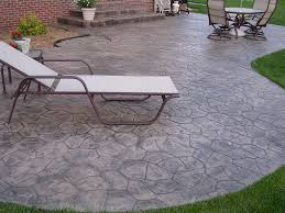 Concrete Ideas For Backyard Patio Decoration Concrete Patio Finishes Ideas Concrete Patio