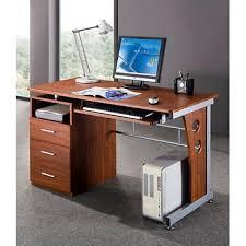 Computer Desk Mahogany Techni Mobili Computer Desk With Storage Mahogany Bj S