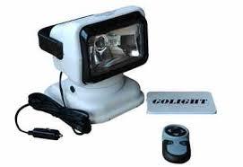 go light magnetic base golight gl 7901 24 m 24 volt golight portable spotlight with