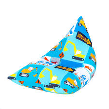 Bean Bag Chairs For Boats Children U0027s Pyramid Shape Bean Bag Chair Gaming Large Kids Beanbag