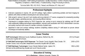 Medical Technologist Resume Examples by Mammography Technologist Resume Reentrycorps