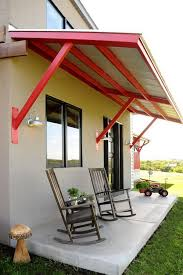 Metal Awnings For Home Windows Applying Metal Awnings Above The Window Kristenkingfreelancing Com