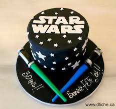 A Birthday Cake Gâteau Star Wars Pour Un Anniversaire A Star Wars Cake For A