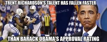 Trent Richardson Meme - nfl memes on twitter trent richardson vs barack obama http t co