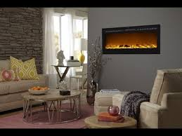 Recessed Electric Fireplace How To Install A Touchstone Sideline Recessed Electric Fireplace