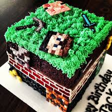 sugar swings serve some minecraft cake and treats
