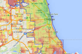 Us Map Chicago by Chicago U0027s Overall Walkability Ranks 6th Among Major Cities