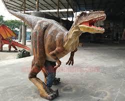 velociraptor costume realistic dinosaur costume christmas promotion scdinosaurs
