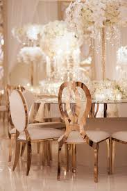 wedding chairs glamorous gold wedding chairs and mirror tables at four seasons