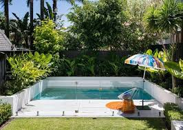 Cool  Backyard Pool Designs Inspiration Of Best  Backyard - Design for small backyard