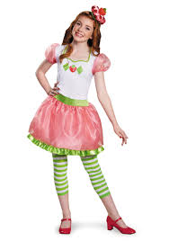 strawberry shortcake costumes kids strawberry shortcake