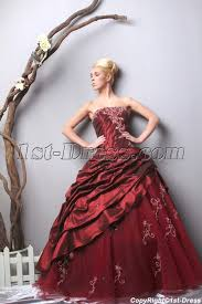 unique quinceanera dresses unique strapless burgundy quinceanera dresses 2013