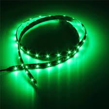 interior led car lights green 4 lights inside