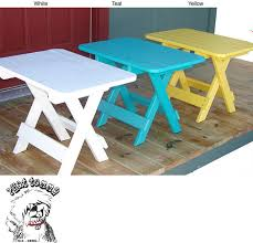 Outdoor Folding Side Table Wonderful Folding Outdoor Side Table Forever Folding