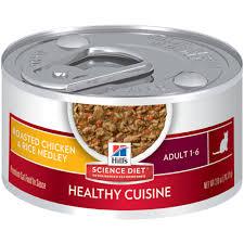 cuisine diet hill s science diet healthy cuisine seared tuna carrot