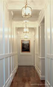help for a long boring hallway and what not to do white gloss