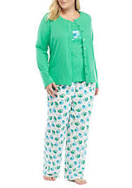 plus size sleepwear and plus size pajamas for belk