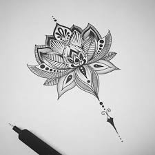 the 25 best lotus flower drawings ideas on pinterest lotus