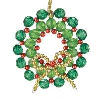 beaded beaded ornaments seasonal herrschners