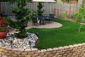Backyard Lawn Ideas Backyard Landscape Ideas On A Budget Home Design