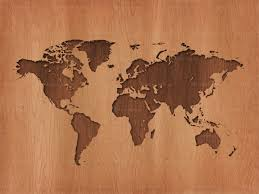Earth Maps Wooden Earth Map Backgroundsy Com