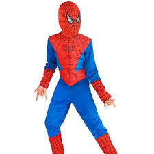 buy red and blue spiderman costumes for kids online best prices