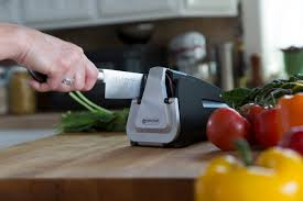 the e5 electric knife sharpener is the secret to great cooking