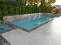 stamped concrete pool deck design ideas the concrete network