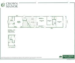 oak creek homes single wide floor plans