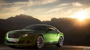 green bentley 2013 bentley continental gt speed apple green front hd